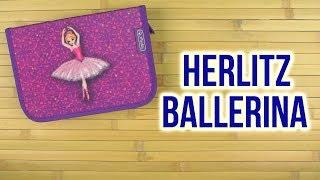 Розпакування Herlitz Ballerina 19 предметів 1 відділення Фіолетовий 50008469D