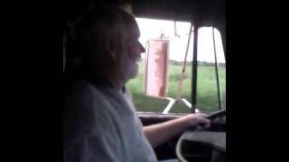 Ron Driving the International 4900