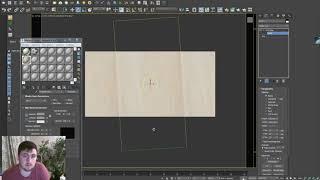 Урок по моделированию плитки в 3D Max