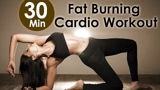 Скачать 30 Min Fat Burning Cardio Workout Bipasha Basu Unleash Full Routine Full Body Workout