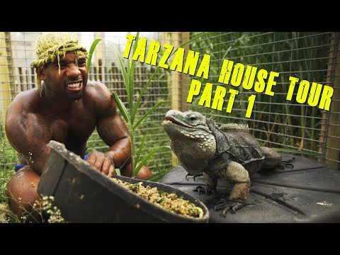 TARZANA HOUSE TOUR (PART 1) |THE REAL TARZANN