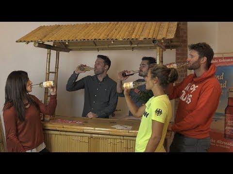 Erfrischend anders: Kokoswasserschorle von Kopfnuss (Werbung)