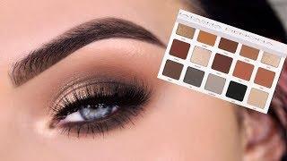 NEW Natasha Denona All Neutral Biba Eyeshadow Palette | Eye Makeup Tutorial