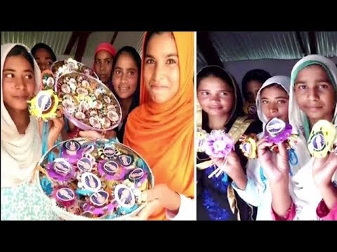1001 rakhis for US President Donald Trump & PM Narendra Modi by Marora Women