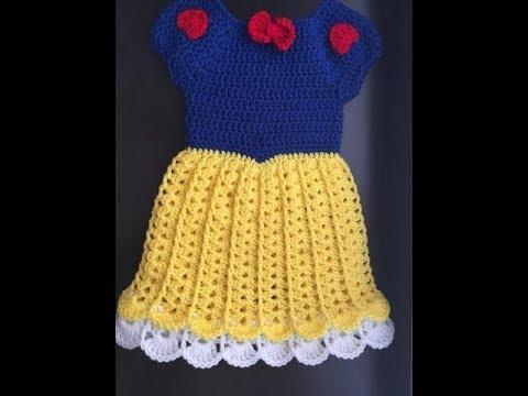 Snow white dress - crochet skirt - Simple elegant skirt - DIY - DIY tutorial - English