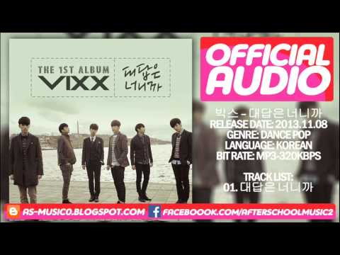 [MP3/DL] VIXX (빅스) - Only U (대답은 너니까) [1st Album]