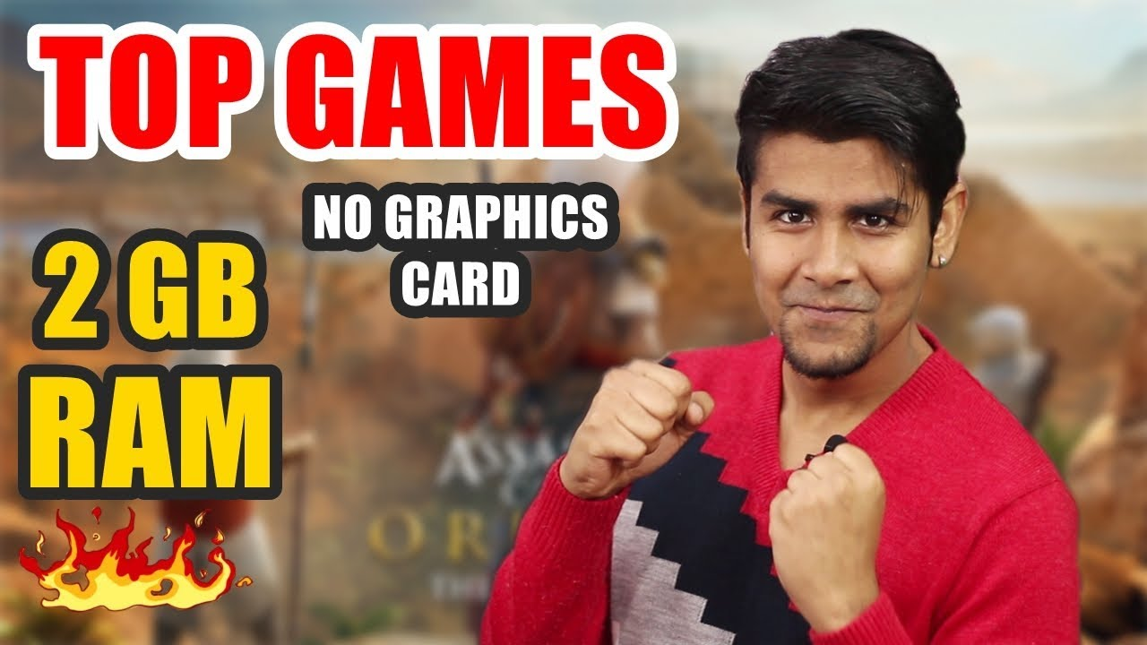 Top Games You Can Play Without Graphics Card | 2GB or 4 GB RAM | Medium to Low Settings Hasi Awan