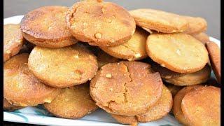 Fried Cashew Cookies Recipe    बिना बेक करे बनाये काजू बिस्किट    cookies by Recipes Hub
