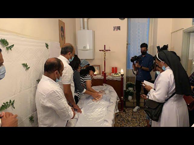 ഇറ്റലിയിൽ നിര്യാതനായ നീണ്ടൂർ കൈമൂലയിൽ ബിനോ തോമസ് (47) ന്റെ മൃതസംസ്കാര ശുശ്രൂഷകള് തല്സമയം