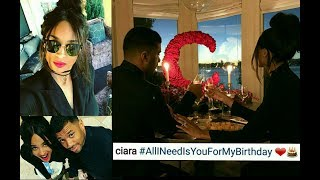 ciara birthday surprise from her husband russell wilson
