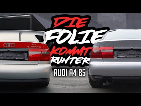 JP Performance - Die Folie kommt runter! | Audi A4B5
