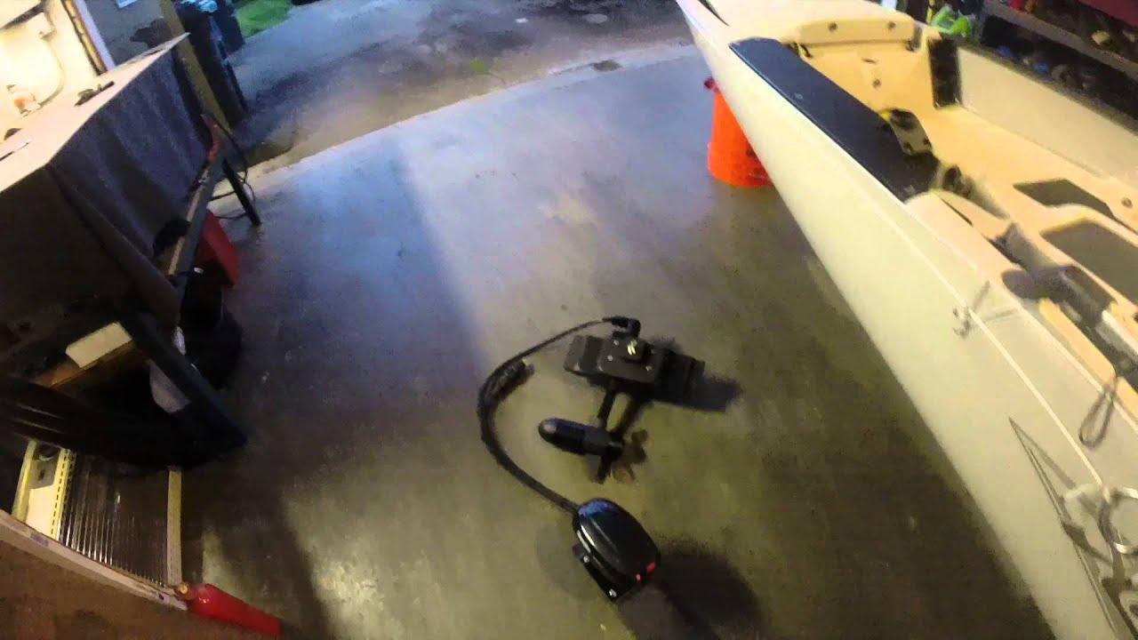 Trolling Motor Setup For My Hobie Pro Angler 14 Kayak
