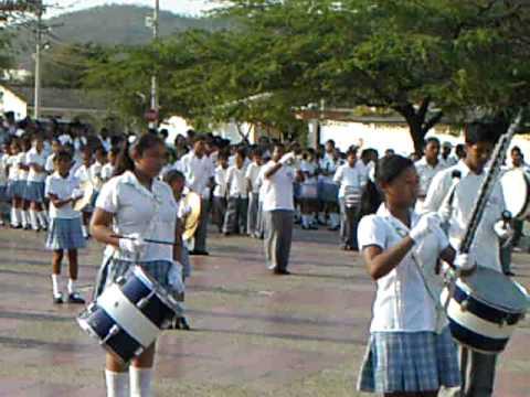 banda marcial francisco javier cisneros puerto col...