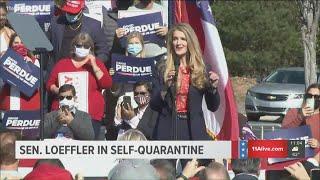 Georgia Sen. <b>Kelly Loeffler</b> in self-quarantine after positive COVID ...