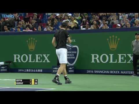 Djokovic Survives Zverev Shanghai QF Highlights 2016