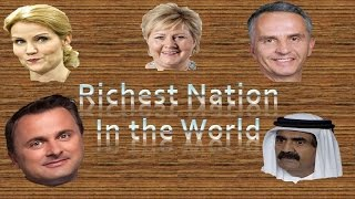 Top 10 Richest Countries in The World by 2014 GDP per Capita