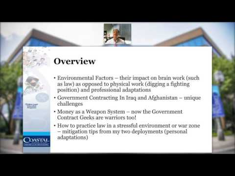 FCSL LLM Programs Speaker Series: Government Contracts