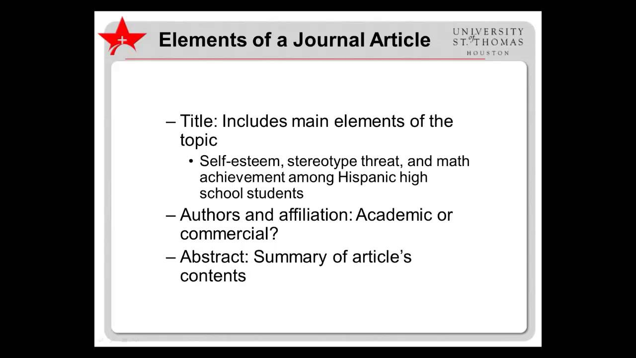 Ust Educational Research Yzing Journal Articles