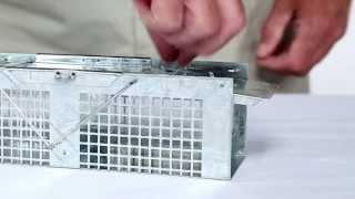 How To Set: Havahart® X-small 2-door Trap Model #1020 For Mice & Shrew