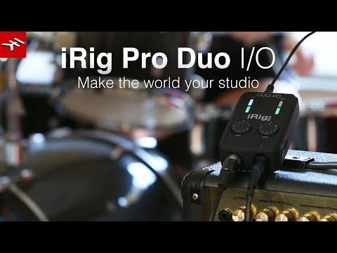 iRig Pro Duo I/O - Make the world your studio
