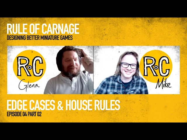 Dealing with Edge Cases and House Rules in Game Design