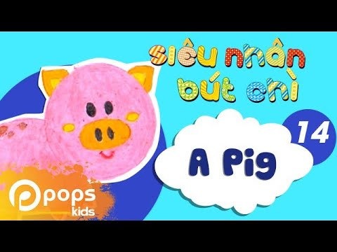 Hướng Dẫn Vẽ Con Heo - How To Draw A Pig