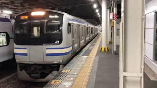 E217系クラY-13編成千葉発車