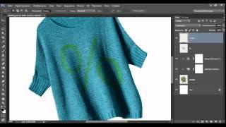 Как создать эффект вышивки в Фотошоп
