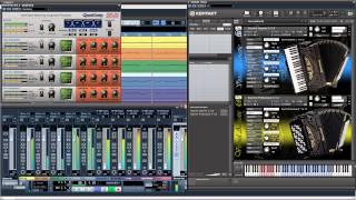 Repeat youtube video Guerrini Accordions - Demo Mix Kola [Virtual Acoustic]
