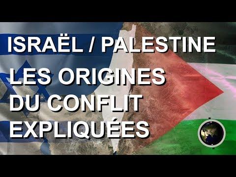 LES ORIGINES DU CONFLIT ISRAÉLO-PALESTINIEN EXPLIQUÉES SUR CARTE