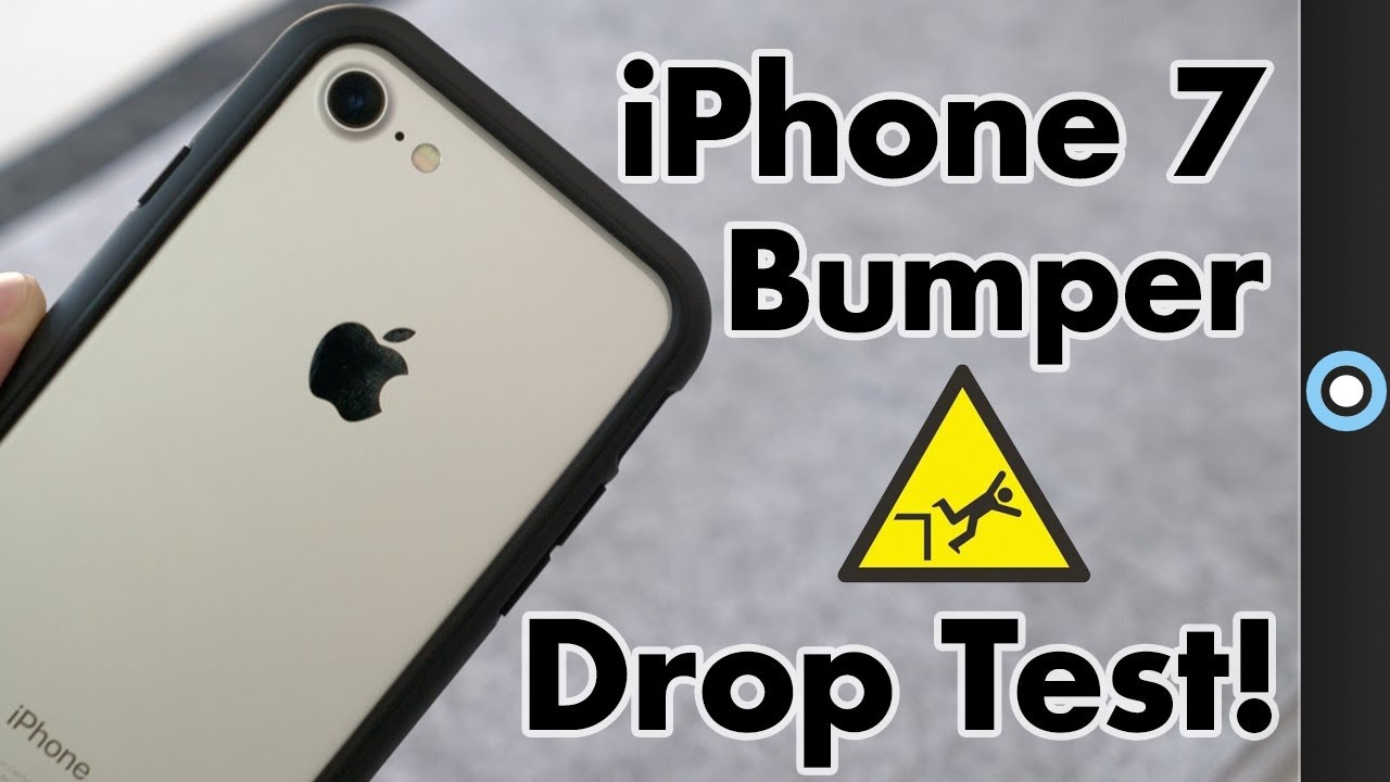 iphone drop test iphone 7 8 bumper review amp drop test 11808
