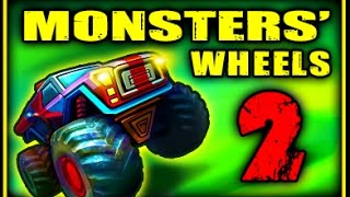 Monsters' Wheels 2 - Walkthrough