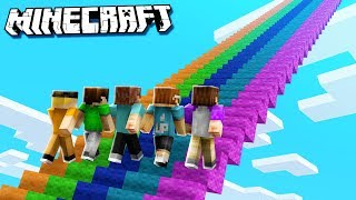 CLIMB THE LONGEST STAIRCASE IN MINECRAFT! (The Pals Minecraft)