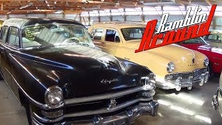 Shed Tour Part 3 - Hot Rods Muscle Cars and Classics