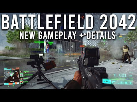Battlefield 2042 NEW Gameplay and Details!
