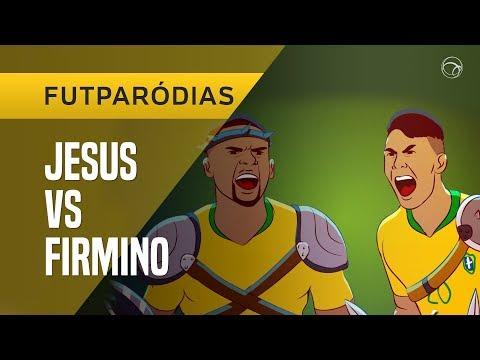 FUTPARÓDIAS: FIRMINO X GABRIEL JESUS  FUTDUELO 6