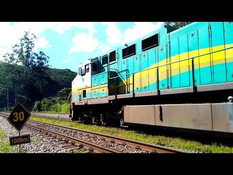 EFVM . Minério subindo pra mina Conceição ,passando por Laboreau !!!