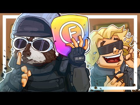 Racc and I meet a HUGE FAN that doesn't know who we are... - Rainbow 6 Siege