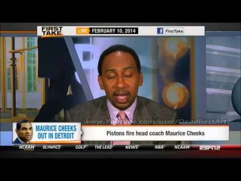 ESPN First Take | Detroit Pistons fire head coach Maurice Cheeks - ESPN Sport First Take