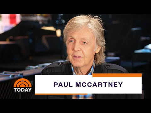 Paul McCartney Talks Hits And History With Al Roker | TODAY