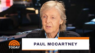 Paul McCartney Talks Hits And History With Al Roker   TODAY Video
