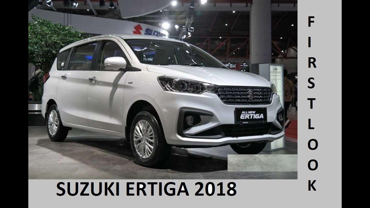Suzuki Ertiga 2018 Facelift First Look Interior Exterior