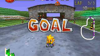 Gambar cover Chocobo Racing PS1 Gameplay