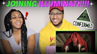 "Shane Dawson ""JOINING THE ILLUMINATI"" REACTION!!!"