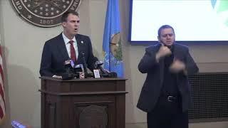 Gov. Stitt plans to reopen state of Oklahoma