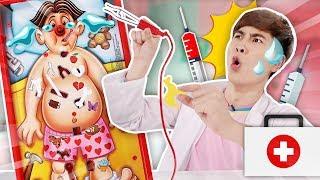 의사가 된 강이? 오퍼레이션 병원 놀이 장난감 보드게임 operation - 강이