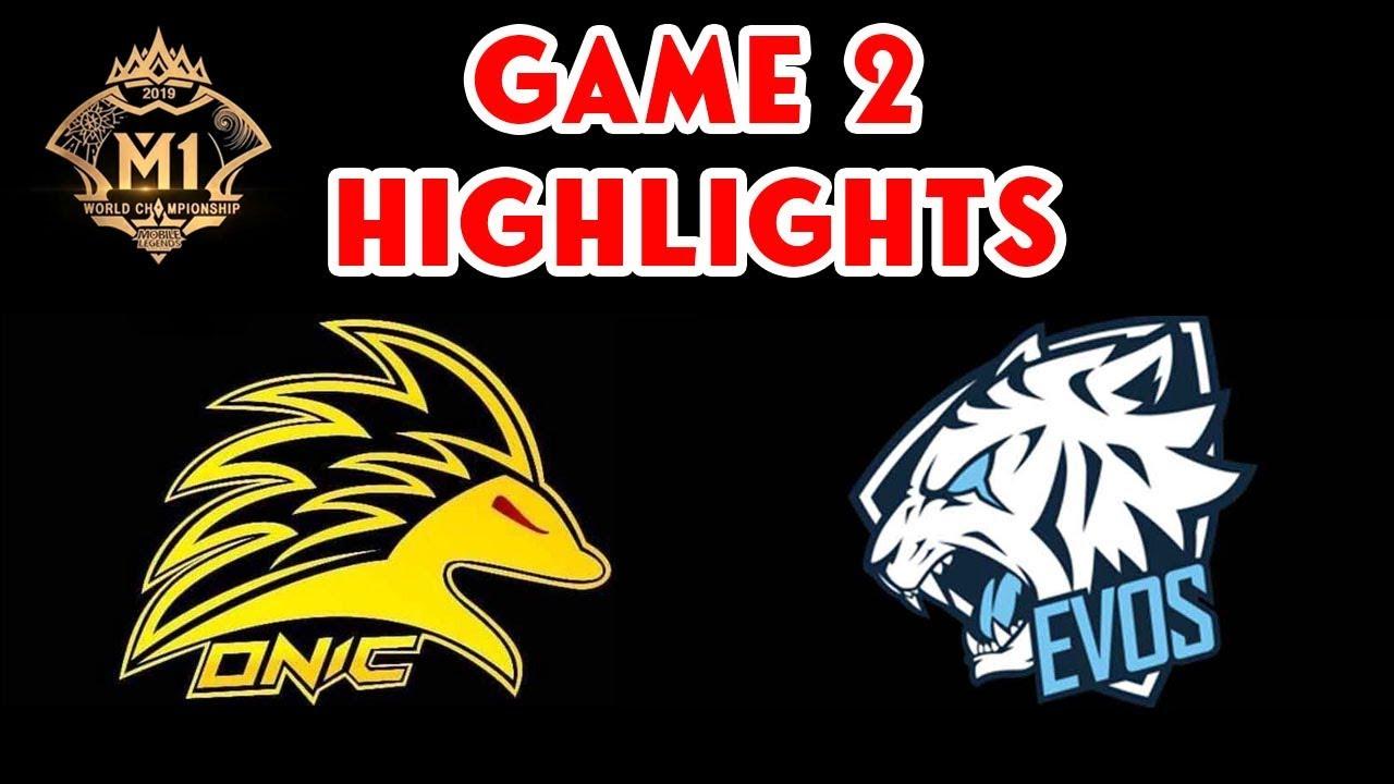 Onic PH VS Evos Legends Game 2 Highlights | M1 WORLD ...