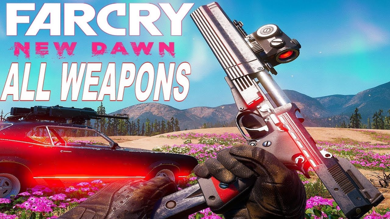 Far Cry New Dawn All Weapons Reload Animations In Slow Motion Youtube