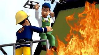 Feuerwehrmann Sam Deutsch | Haus im Feuer 🔥Dachrettung 🚒Zeichentrick für Kinder