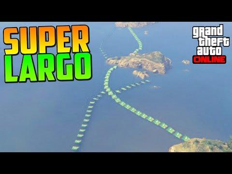 ¡¡¡¡ESTO ES SUPER LARGO!!!! - Gameplay GTA 5 Online Funny Moments (Carrera GTA V PS4)